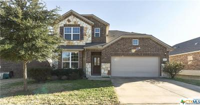Killeen Single Family Home For Sale: 3704 Castleton Drive