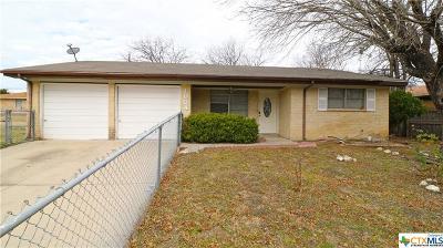 Copperas Cove Single Family Home For Sale: 1004 W Lincoln Avenue