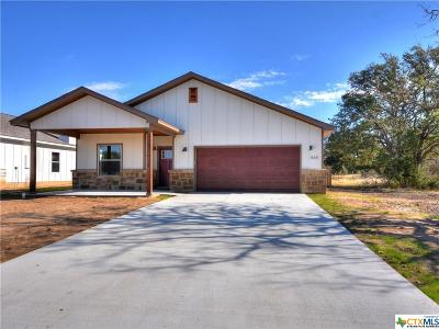 Burnet County Single Family Home For Sale: 465 Dove Trail