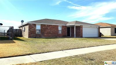 Killeen TX Single Family Home For Sale: $119,000