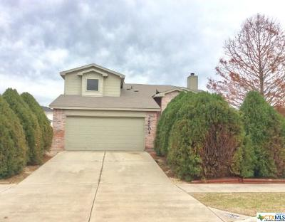 Killeen Single Family Home For Sale: 5604 Orts Drive