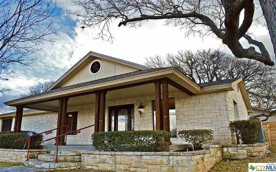 Burnet County Single Family Home For Sale: 505 Avenue E