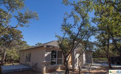 Canyon Lake Single Family Home For Sale: 543 Scenic Terrace