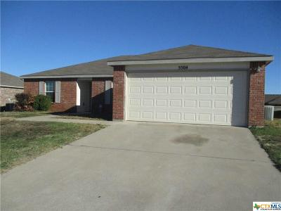 Killeen Single Family Home For Sale: 5504 Bridle Drive