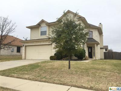 Killeen Single Family Home For Sale: 5811 Cobalt Lane