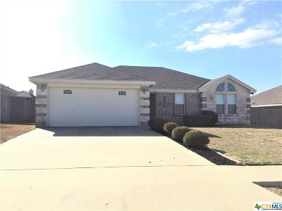 Killeen Single Family Home For Sale: 3800 Llano Estacado Court