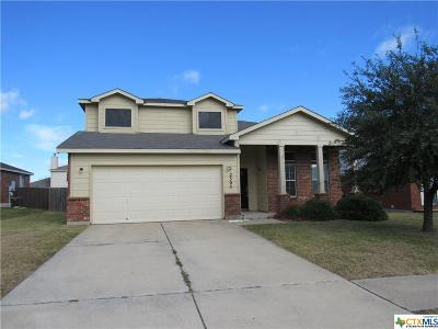 Killeen Single Family Home For Sale: 2303 Riley Drive