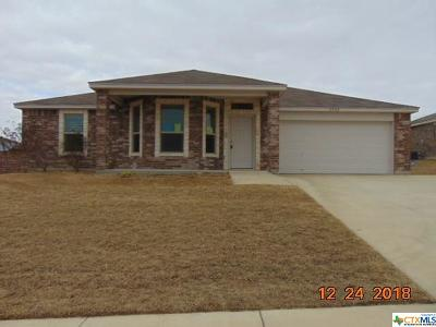 Killeen TX Single Family Home For Sale: $159,000