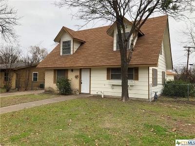Killeen Single Family Home For Sale: 1216 Bonnie