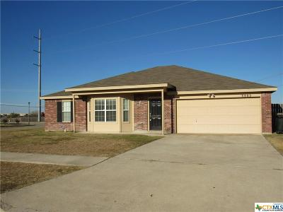 Killeen Single Family Home For Sale: 3303 Tom Lockett