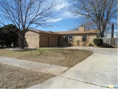 Killeen Single Family Home For Sale: 3109 Julie