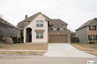 Killeen TX Single Family Home For Sale: $259,000