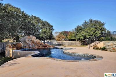 Round Rock Single Family Home For Sale: 2200 Court Del Rey