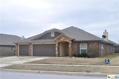 Killeen Single Family Home For Sale: 2512 Hector Drive