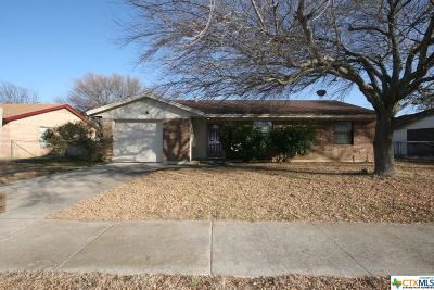 Killeen Single Family Home For Sale: 1606 Herndon Drive