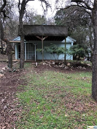 San Marcos TX Single Family Home For Sale: $150,000