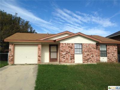 Killeen Single Family Home For Sale: 3911 Pilgram Drive