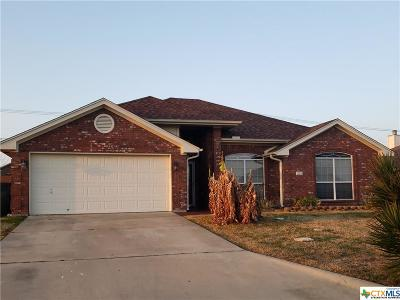 Harker Heights TX Single Family Home For Sale: $187,000