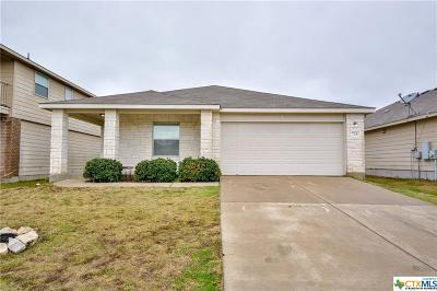 Temple TX Single Family Home Pending: $166,900