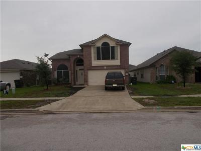 Killeen Single Family Home For Sale: 5111 Donegal Bay