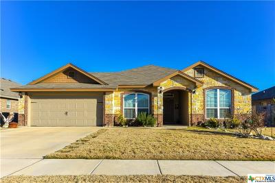 Killeen Single Family Home For Sale: 6200 Castle Gap