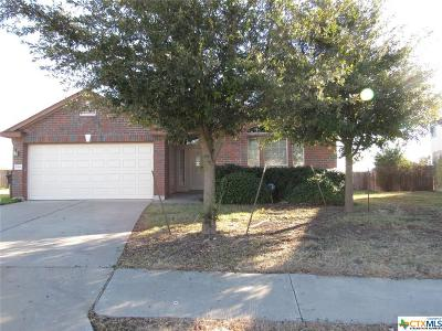 Killeen Single Family Home For Sale: 6104 Blayney Drive