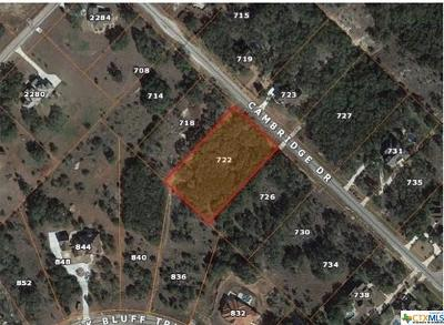 New Braunfels Residential Lots & Land For Sale: 722 Cambridge Drive