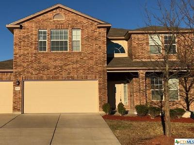 Killeen Single Family Home For Sale: 6111 Lana