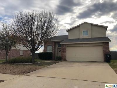 Killeen Single Family Home For Sale: 4002 Bull Run Drive