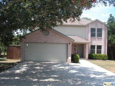 Canyon Lake Single Family Home For Sale: 636 Lake Island