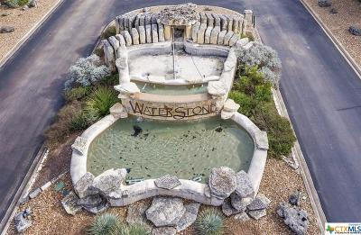Boerne Residential Lots & Land For Sale: Lot 165 Waterstone Parkway
