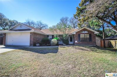 Belton Single Family Home For Sale: 55 Blackjack