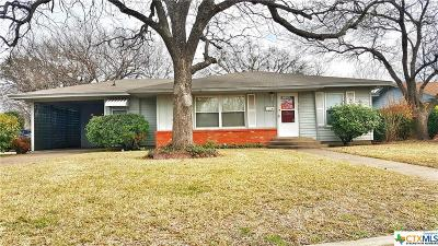 Coryell County Single Family Home For Sale: 116 N. 29th Street