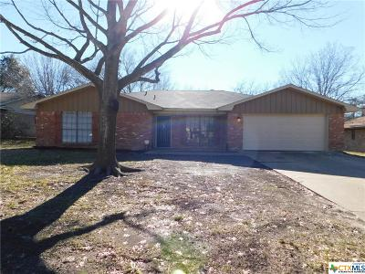 Temple Single Family Home For Sale: 4113 Fox Trail