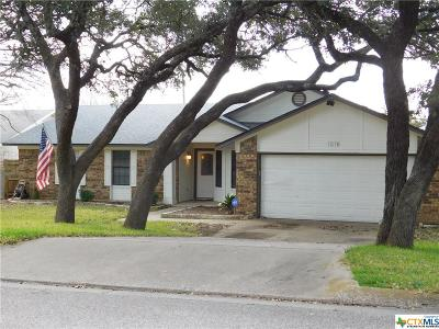 Harker Heights Single Family Home For Sale: 1518 Cedar Oaks Drive