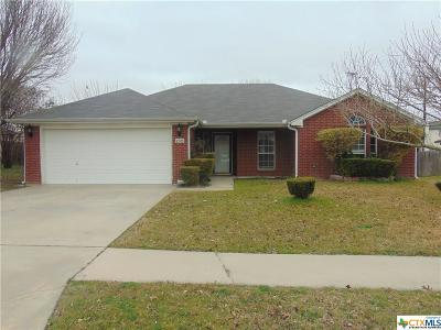 Killeen Single Family Home For Sale: 4708 Embers