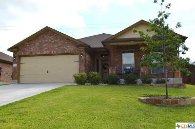 Harker Heights Single Family Home For Sale: 3315 Vineyard Trail