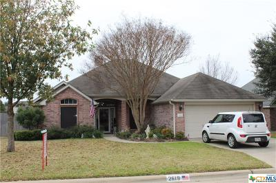 Temple Single Family Home For Sale: 2619 Meadow Wood Drive