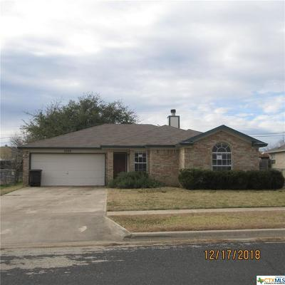 Killeen Single Family Home For Sale: 2009 Dusk Drive