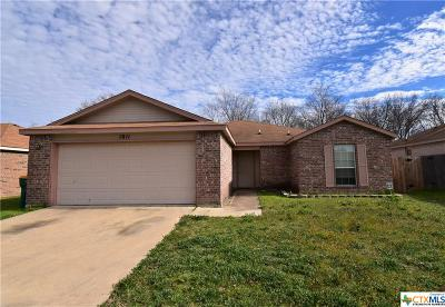 Temple, Belton Single Family Home For Sale: 1811 Liberty Hill