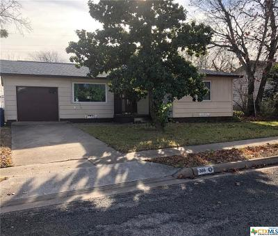 Copperas Cove Single Family Home For Sale: 309 Ash Street