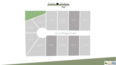 Temple Residential Lots & Land For Sale: 3502 Lions Ridge Drive