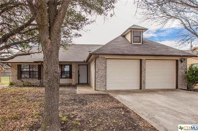 Killeen TX Single Family Home For Sale: $119,900