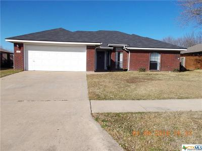 Killeen TX Single Family Home For Sale: $120,000