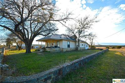 Lampasas Single Family Home For Sale: 8737 W Fm 580