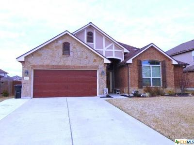 Harker Heights Single Family Home For Sale: 803 Terra Cotta Ct