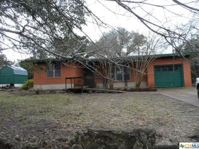 Temple, Belton Single Family Home For Sale: 13306 Rattlesnake
