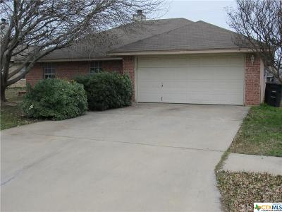 Killeen Single Family Home For Sale: 2603 Mason Drive