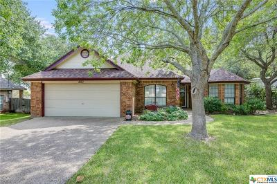 Harker Heights TX Single Family Home Pending: $167,000