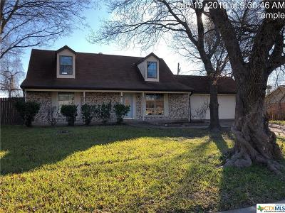 temple Single Family Home For Sale: 409 Keller Road